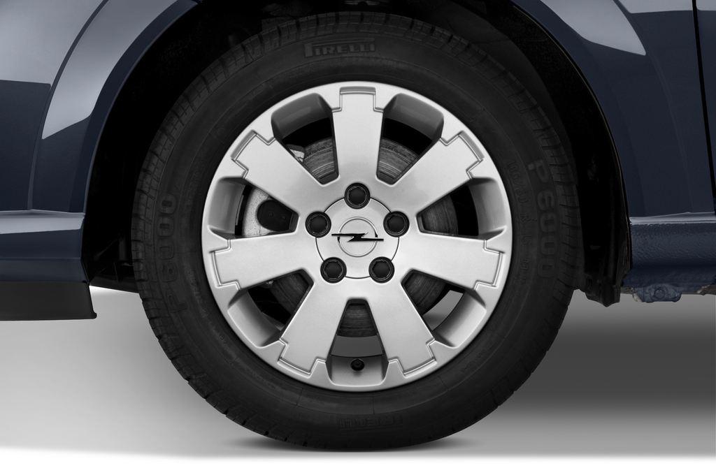 Opel Meriva Selection Van (2003 - 2010) 5 Türen Reifen und Felge