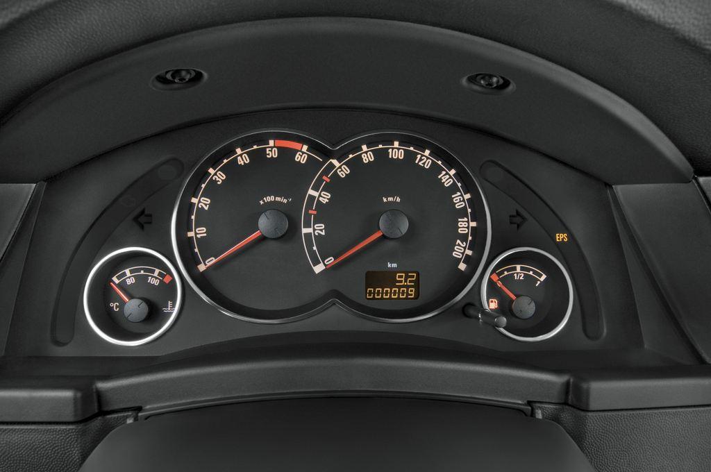 Opel Meriva Selection Van (2003 - 2010) 5 Türen Tacho und Fahrerinstrumente