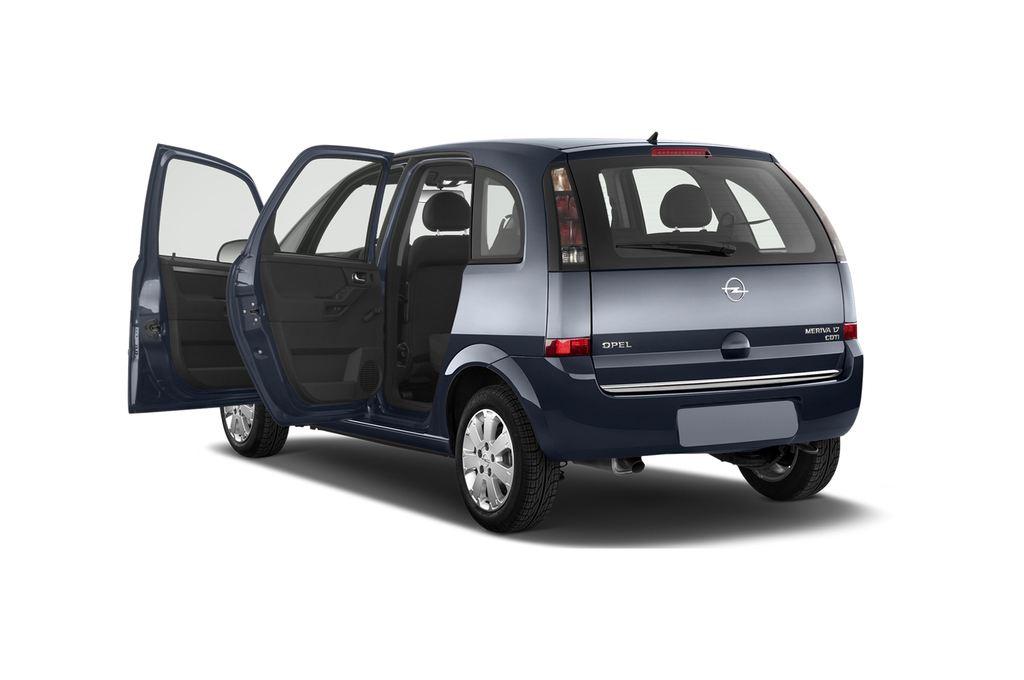 Opel Meriva Selection Van (2003 - 2010) 5 Türen Tür geöffnet
