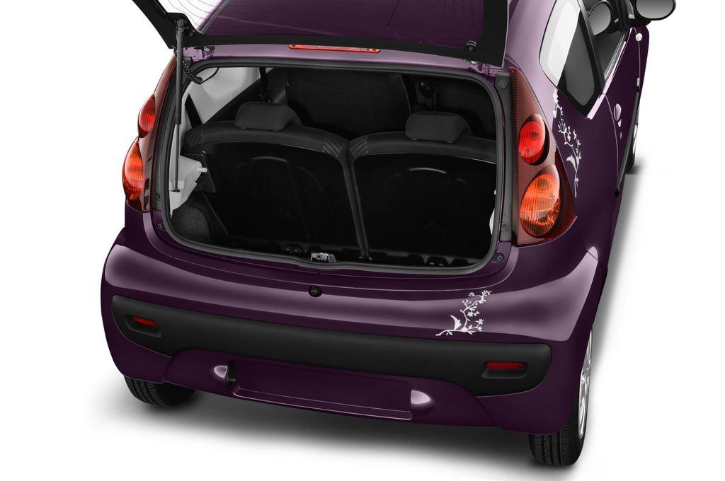Peugeot 107 Envy Kleinwagen (2005 - 2014) 3 Türen Kofferraum