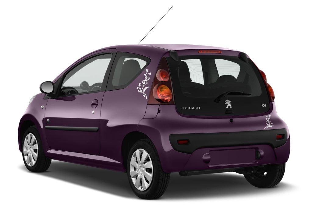 Peugeot 107 Envy Kleinwagen (2005 - 2014) 3 Türen seitlich hinten