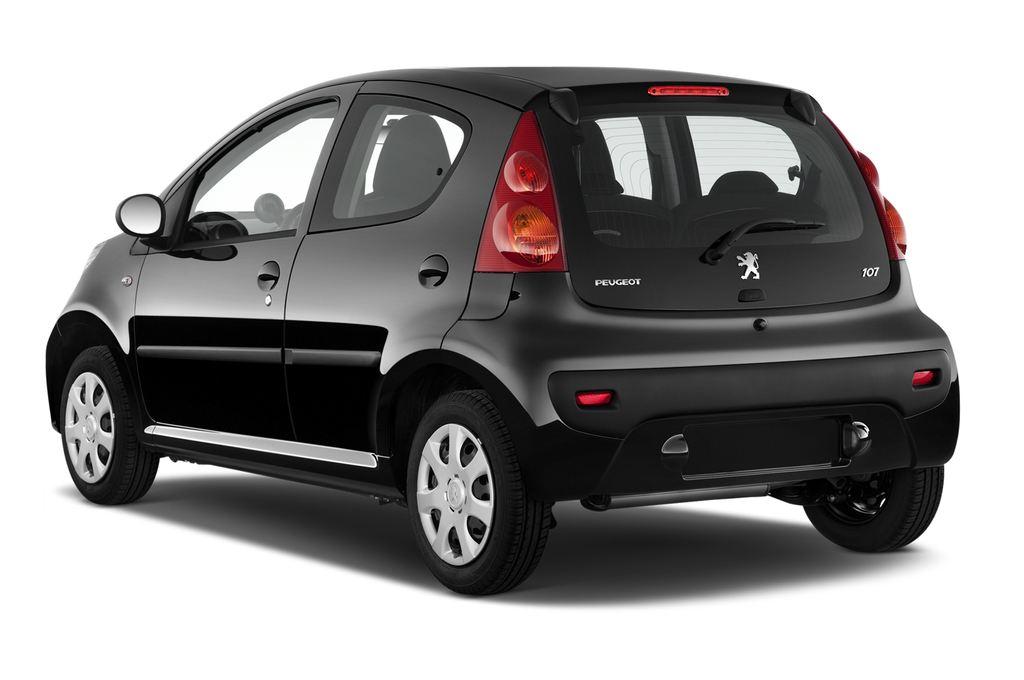 Peugeot 107 Filou Kleinwagen (2005 - 2014) 5 Türen seitlich hinten
