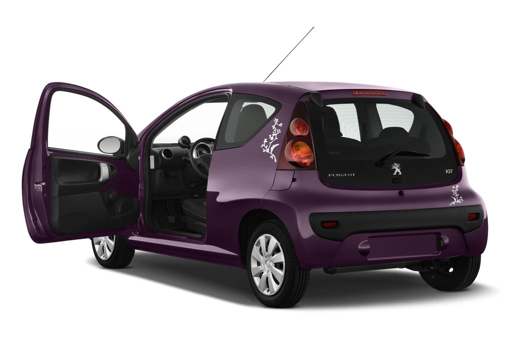 Peugeot 107 Envy Kleinwagen (2005 - 2014) 3 Türen Tür geöffnet