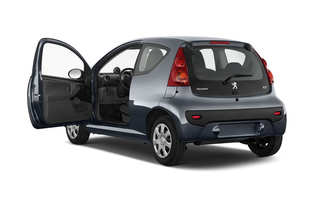 Peugeot 107 Filou Kleinwagen (2005 - 2014) 3 Türen Tür geöffnet