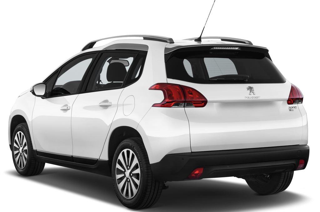 Peugeot 2008 Active SUV (2013 - heute) 5 Türen seitlich hinten