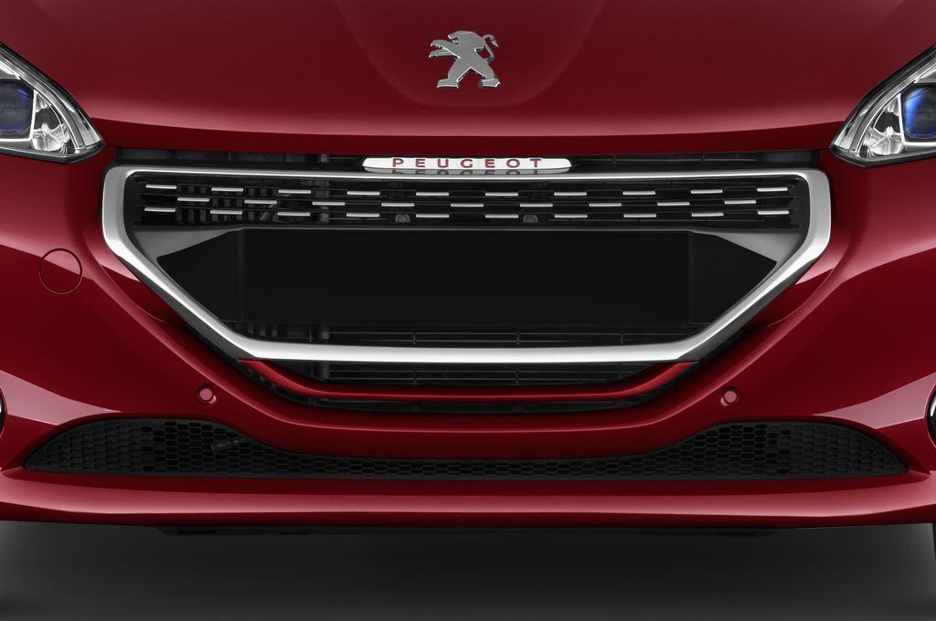 Peugeot 208 GTI Kleinwagen (2012 - heute) 3 Türen Kühlergrill und Scheinwerfer