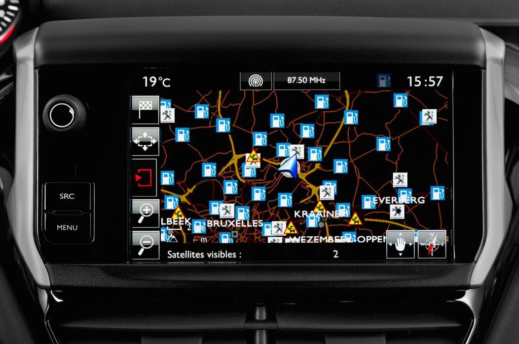 Peugeot 208 GTI Kleinwagen (2012 - heute) 3 Türen Radio und Infotainmentsystem