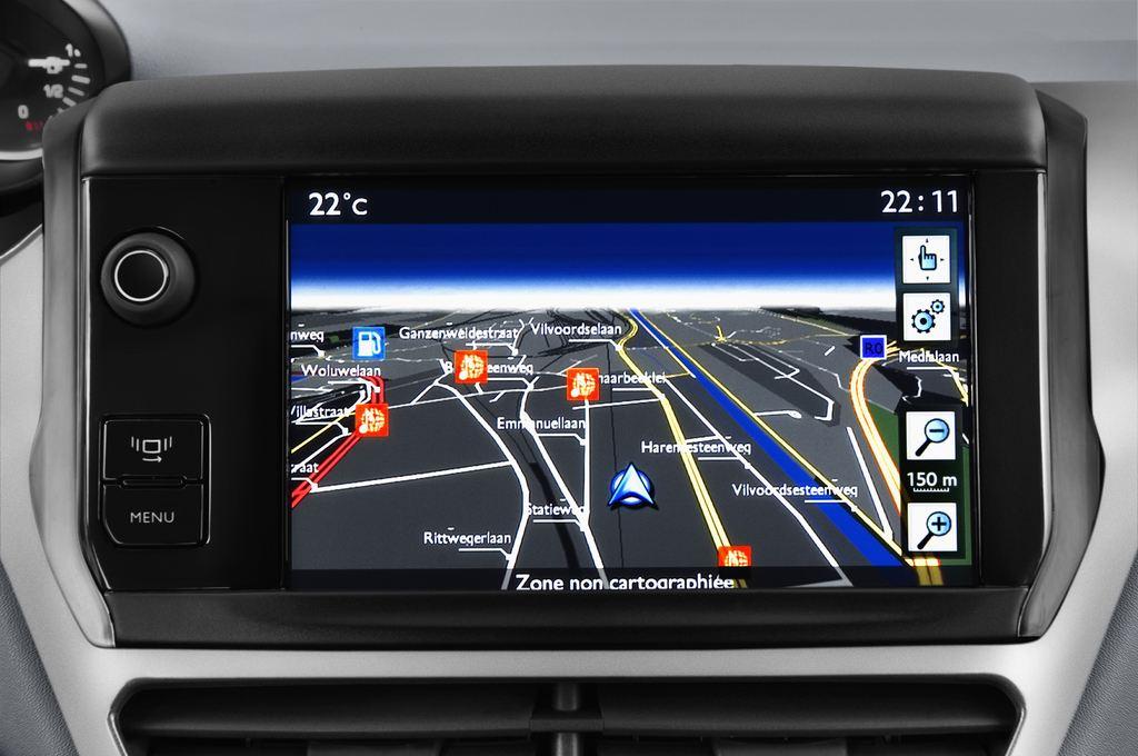 Peugeot 208 Allure Kleinwagen (2012 - heute) 5 Türen Radio und Infotainmentsystem