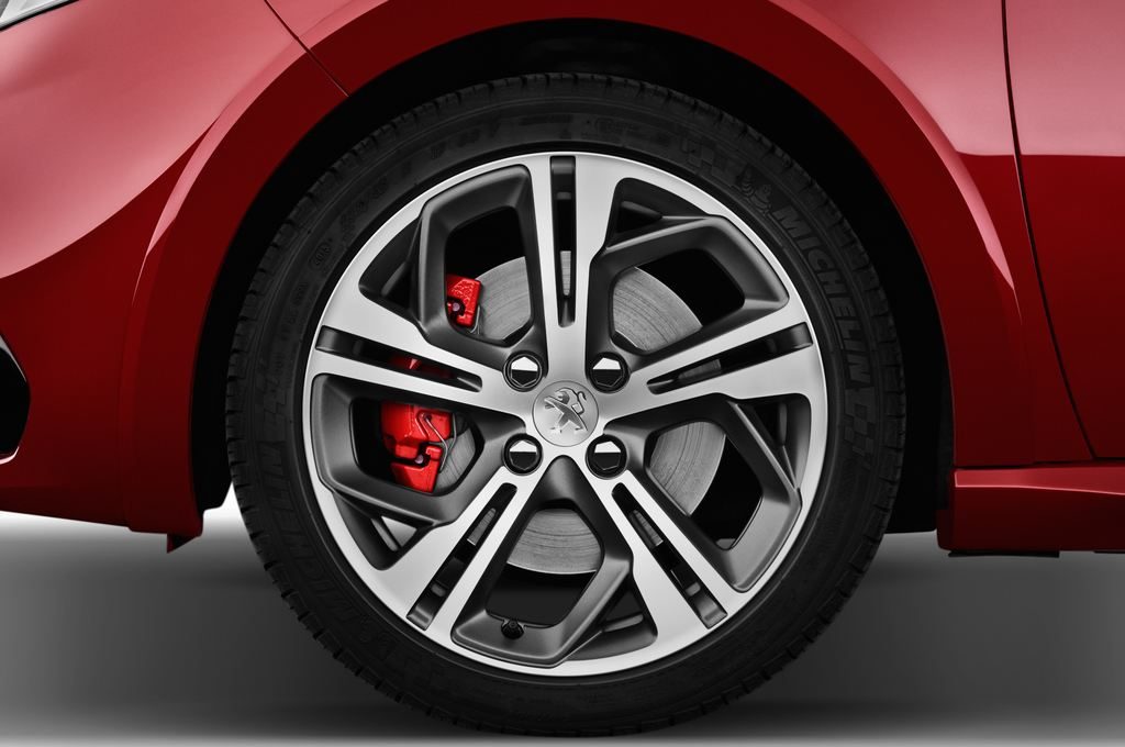 Peugeot 208 GTI Kleinwagen (2012 - heute) 3 Türen Reifen und Felge