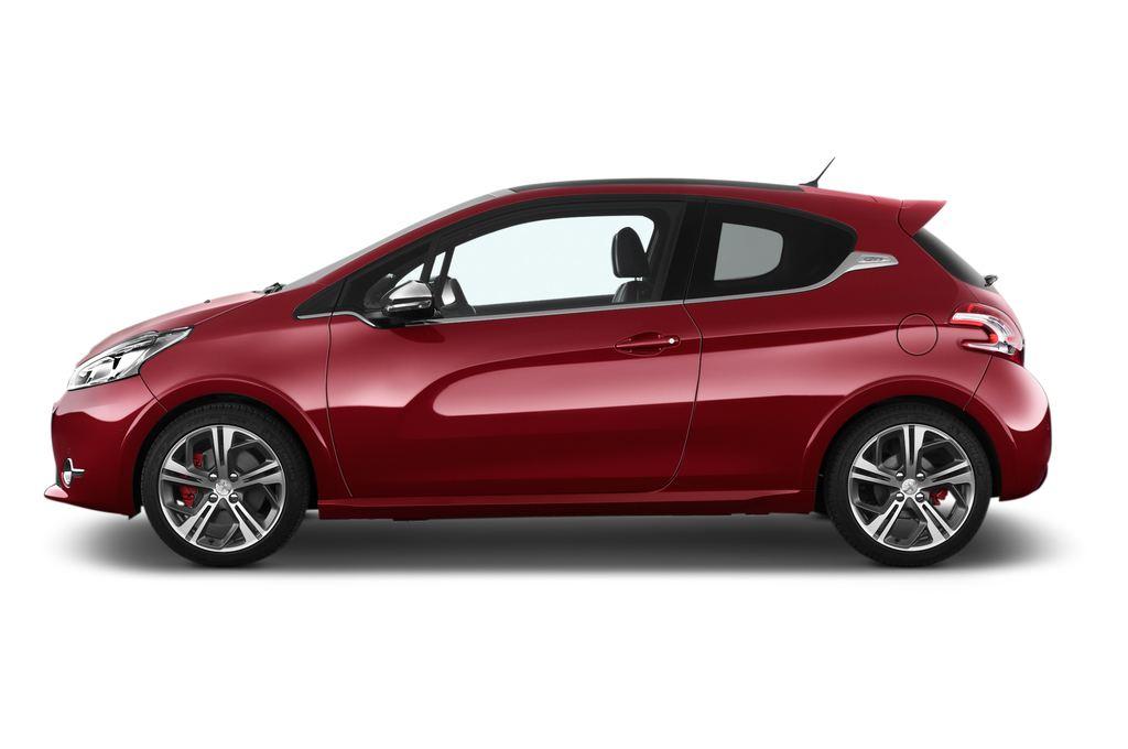 Peugeot 208 GTI Kleinwagen (2012 - heute) 3 Türen Seitenansicht