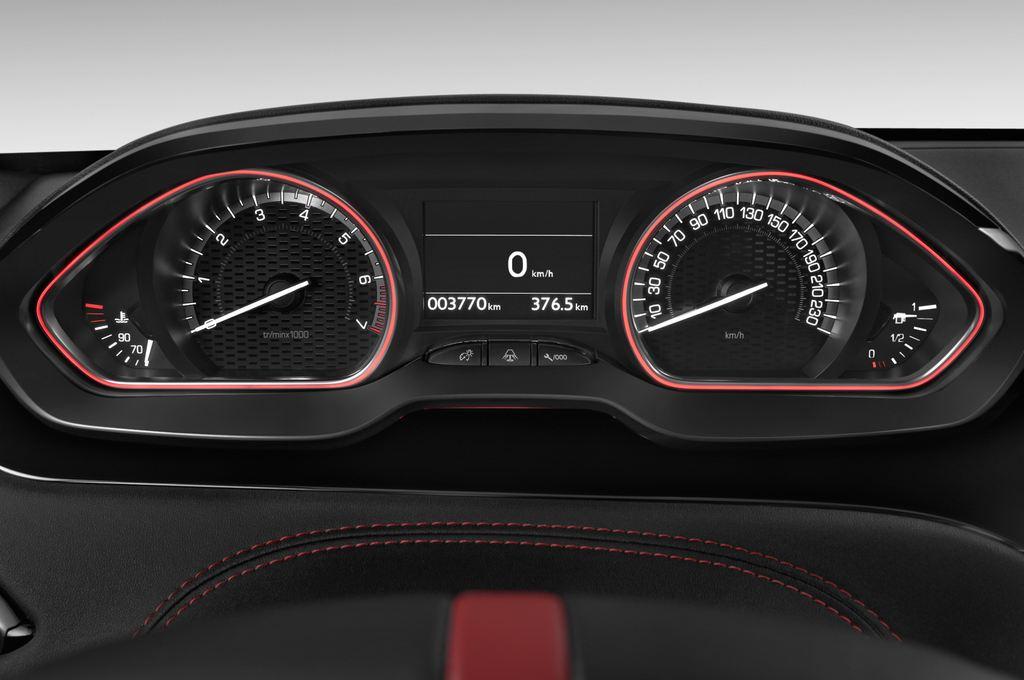 Peugeot 208 GTI Kleinwagen (2012 - heute) 3 Türen Tacho und Fahrerinstrumente