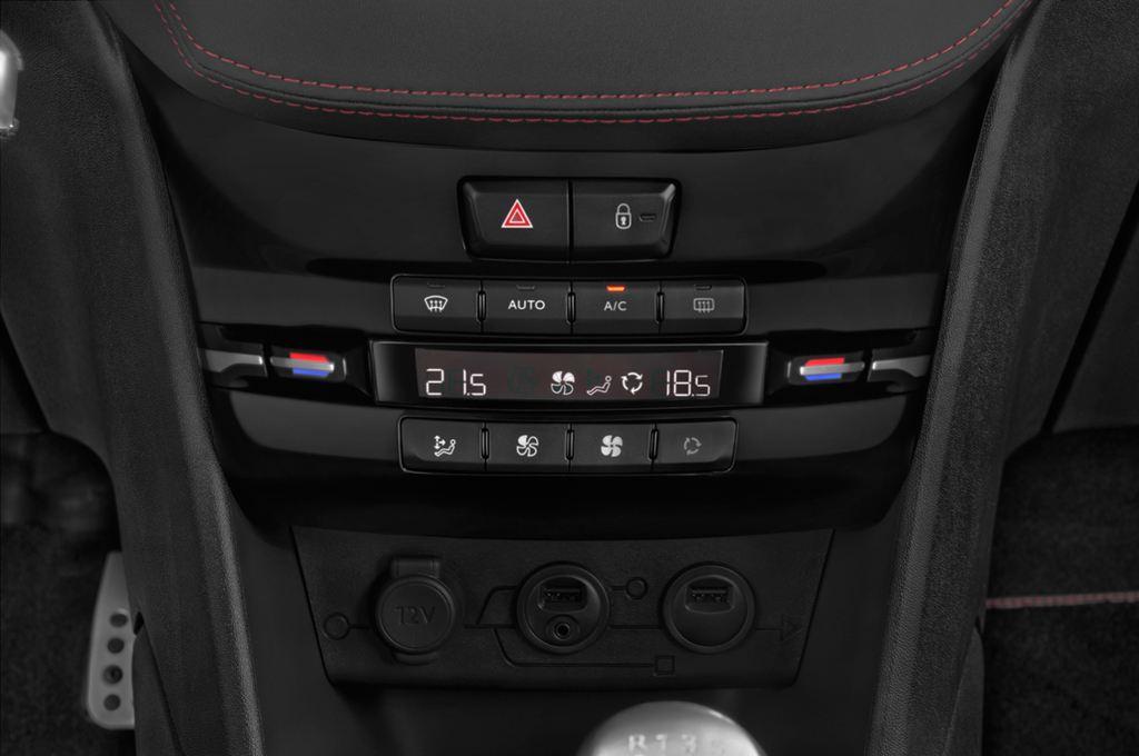 Peugeot 208 GTI Kleinwagen (2012 - heute) 3 Türen Temperatur und Klimaanlage
