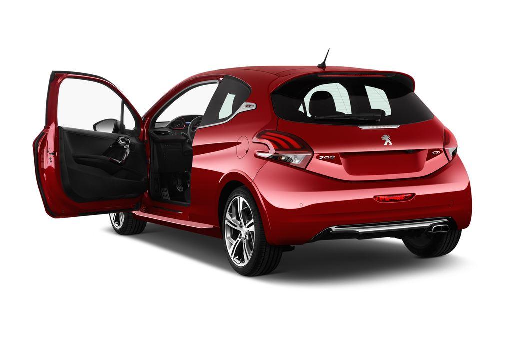 Peugeot 208 GTI Kleinwagen (2012 - heute) 3 Türen Tür geöffnet