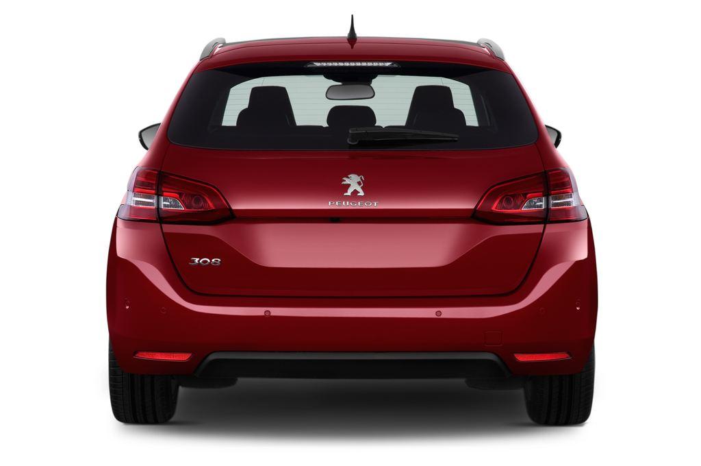Peugeot 308 Allure Kombi (2014 - heute) 5 Türen Heckansicht