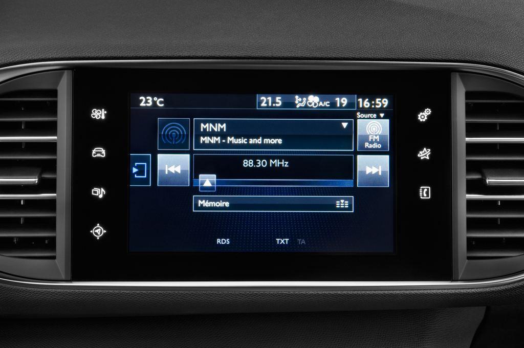 Peugeot 308 Allure Kombi (2014 - heute) 5 Türen Radio und Infotainmentsystem