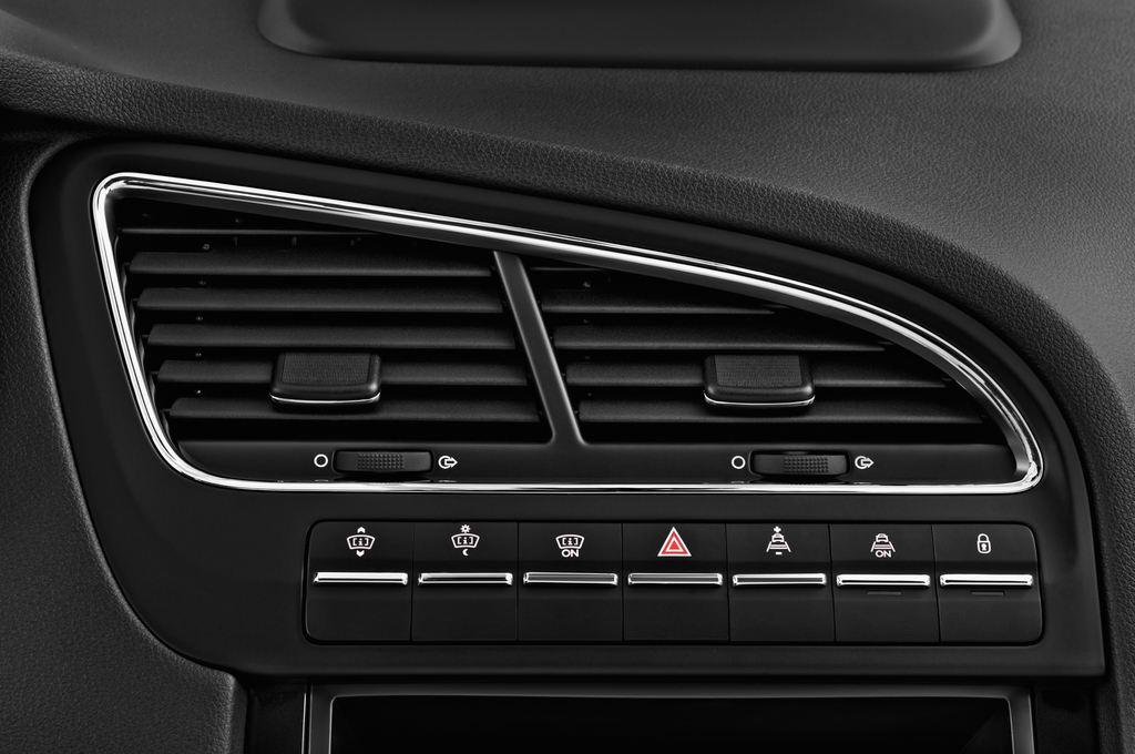 Peugeot 5008 Allure Van (2009 - 2017) 5 Türen Lüftung