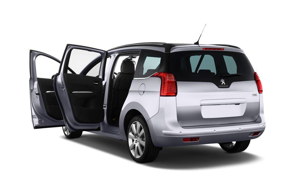 Peugeot 5008 Allure Van (2009 - 2017) 5 Türen Tür geöffnet