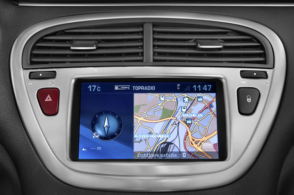 Peugeot 607 Platinum Limousine (2000 - 2010) 4 Türen Lüftung
