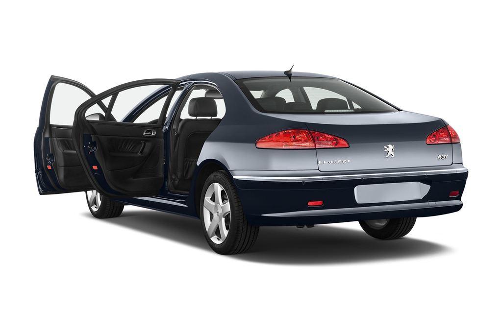 Peugeot 607 Platinum Limousine (2000 - 2010) 4 Türen Tür geöffnet