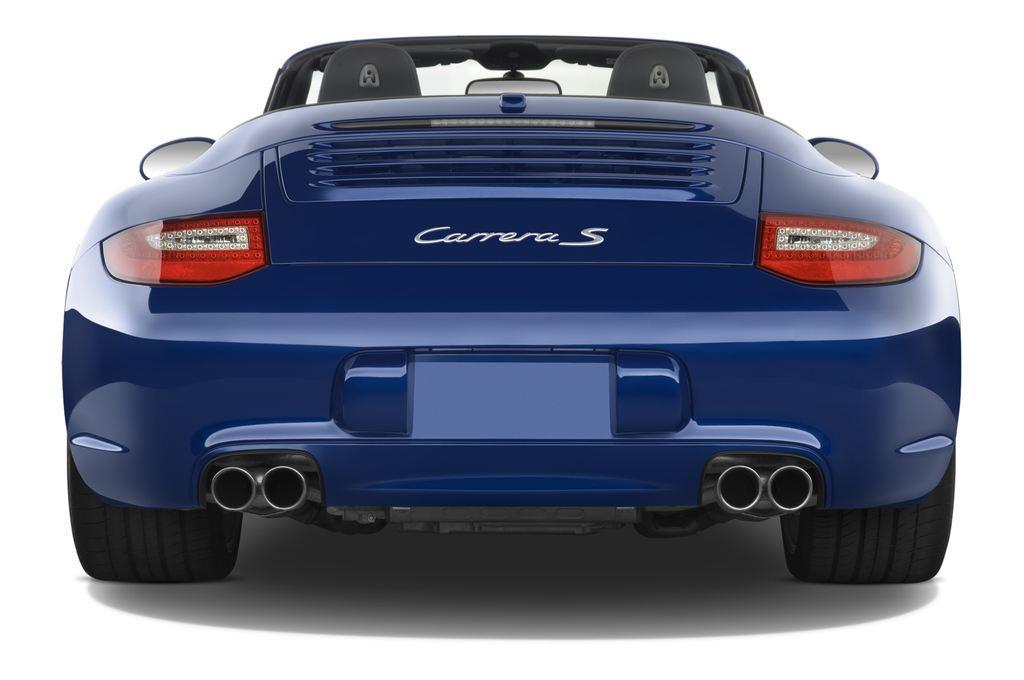 Porsche 911 Carrera S Cabrio (2004 - 2011) 2 Türen Heckansicht