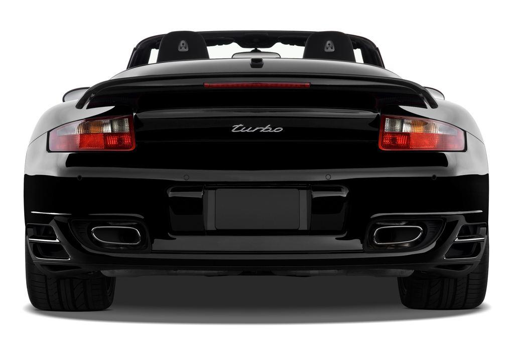 Porsche 911 Turbo Cabriolet Cabrio (2004 - 2011) 2 Türen Heckansicht