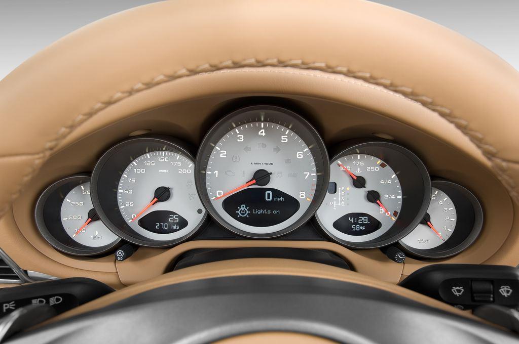Porsche 911 Carrera 4S Cabrio (2004 - 2011) 2 Türen Tacho und Fahrerinstrumente