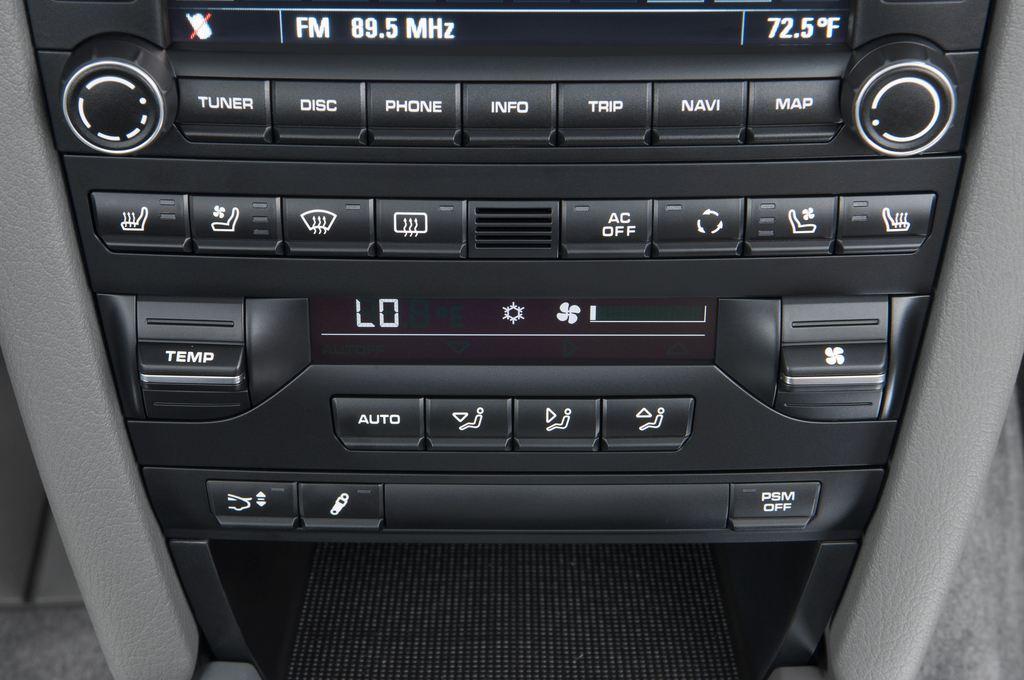 Porsche 911 Carrera S Cabrio (2004 - 2011) 2 Türen Temperatur und Klimaanlage