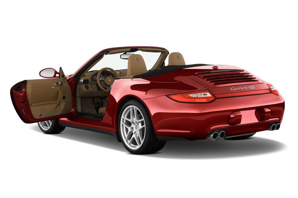 Porsche 911 Carrera 4S Cabrio (2004 - 2011) 2 Türen Tür geöffnet