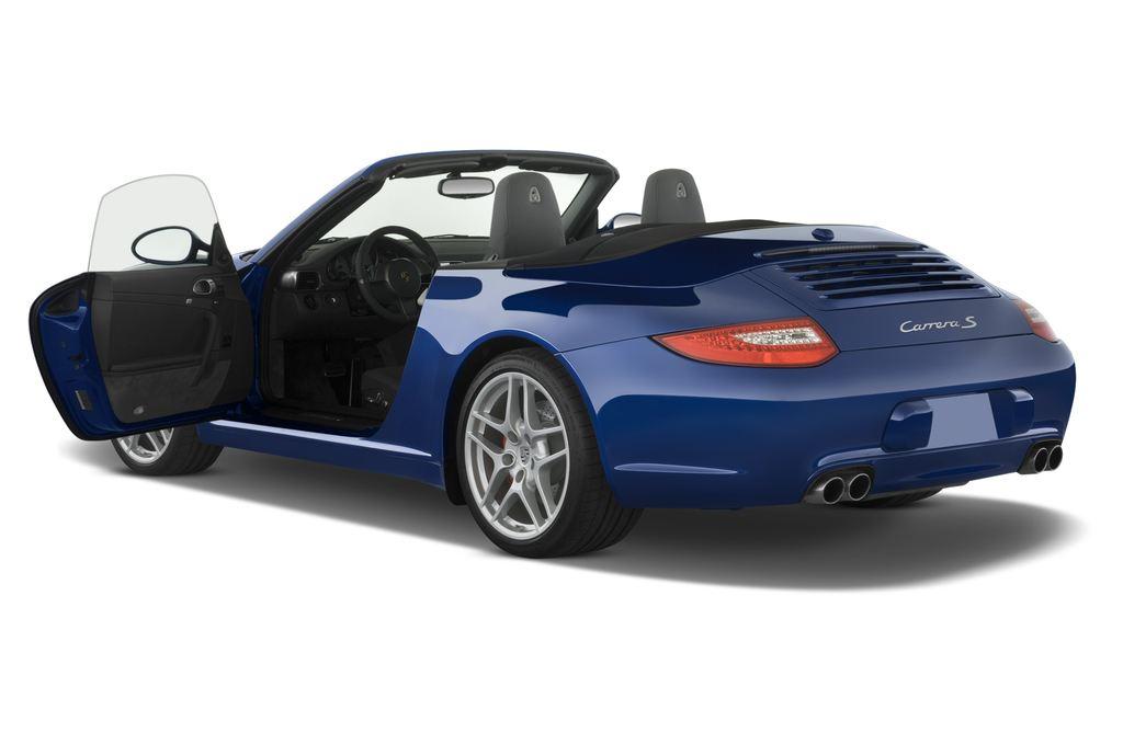 Porsche 911 Carrera S Cabrio (2004 - 2011) 2 Türen Tür geöffnet
