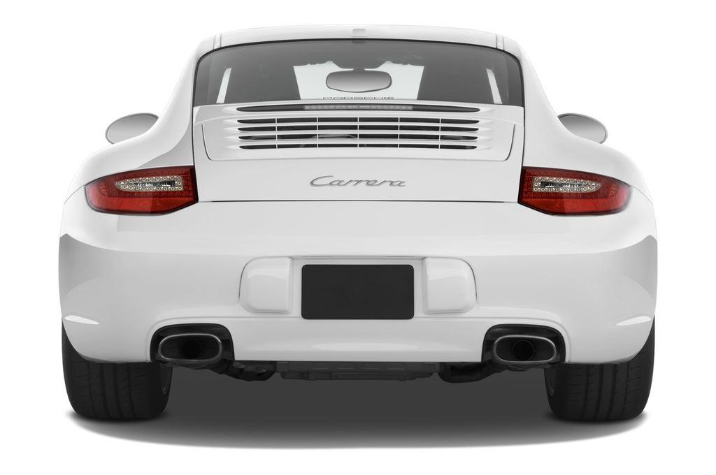 Porsche 911 Carrera Coupe Coupé (2004 - 2011) 2 Türen Heckansicht