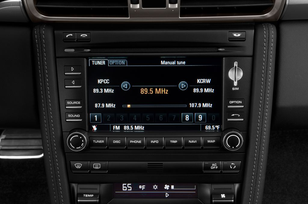 Porsche 911 Carrera 4S Coupe Coupé (2004 - 2011) 2 Türen Radio und Infotainmentsystem