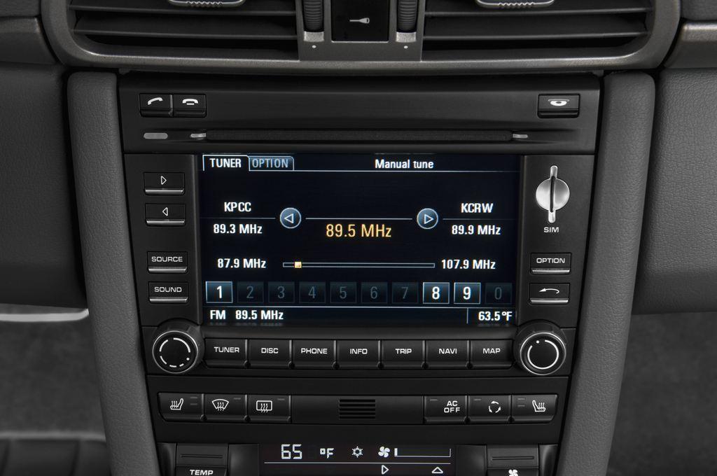 Porsche 911 Carrera Coupe Coupé (2004 - 2011) 2 Türen Radio und Infotainmentsystem