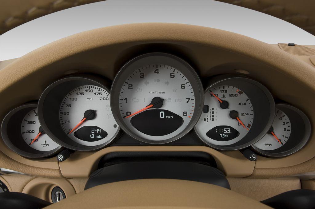 Porsche 911 Carrera S Coupé (2004 - 2011) 2 Türen Tacho und Fahrerinstrumente