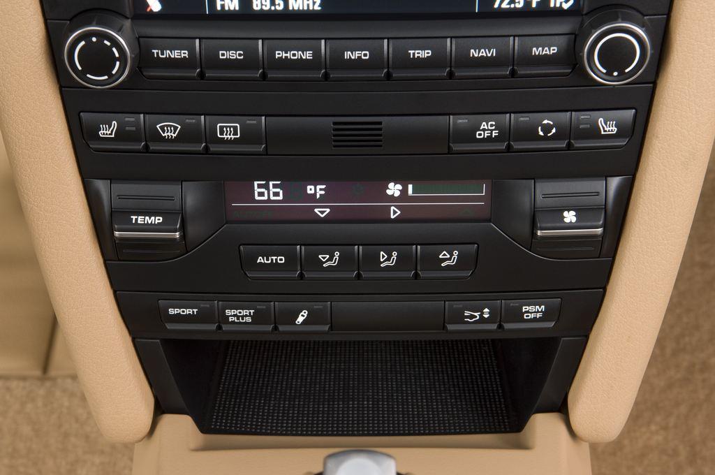 Porsche 911 Carrera S Coupé (2004 - 2011) 2 Türen Temperatur und Klimaanlage
