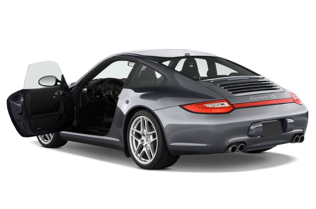 Porsche 911 Carrera 4S Coupe Coupé (2004 - 2011) 2 Türen Tür geöffnet