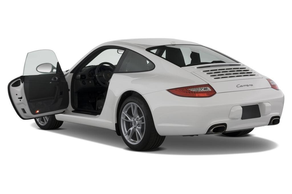 Porsche 911 Carrera Coupe Coupé (2004 - 2011) 2 Türen Tür geöffnet