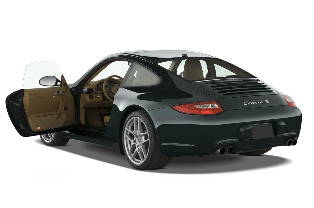 Porsche 911 Carrera S Coupé (2004 - 2011) 2 Türen Tür geöffnet