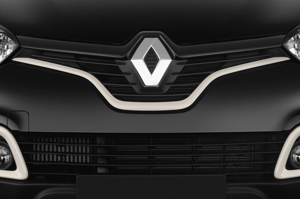 Renault Captur Luxe SUV (2013 - heute) 5 Türen Kühlergrill und Scheinwerfer