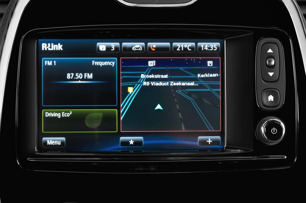 Renault Captur Luxe SUV (2013 - heute) 5 Türen Radio und Infotainmentsystem