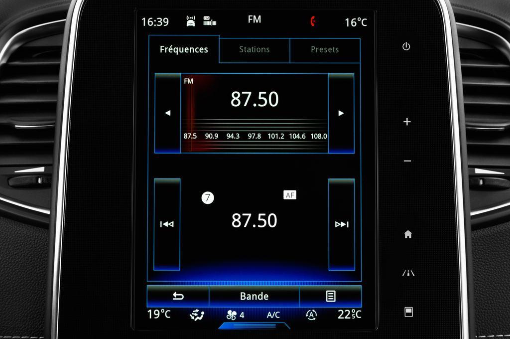 Renault Grand Scenic Bose Edition Van (2016 - heute) 5 Türen Radio und Infotainmentsystem