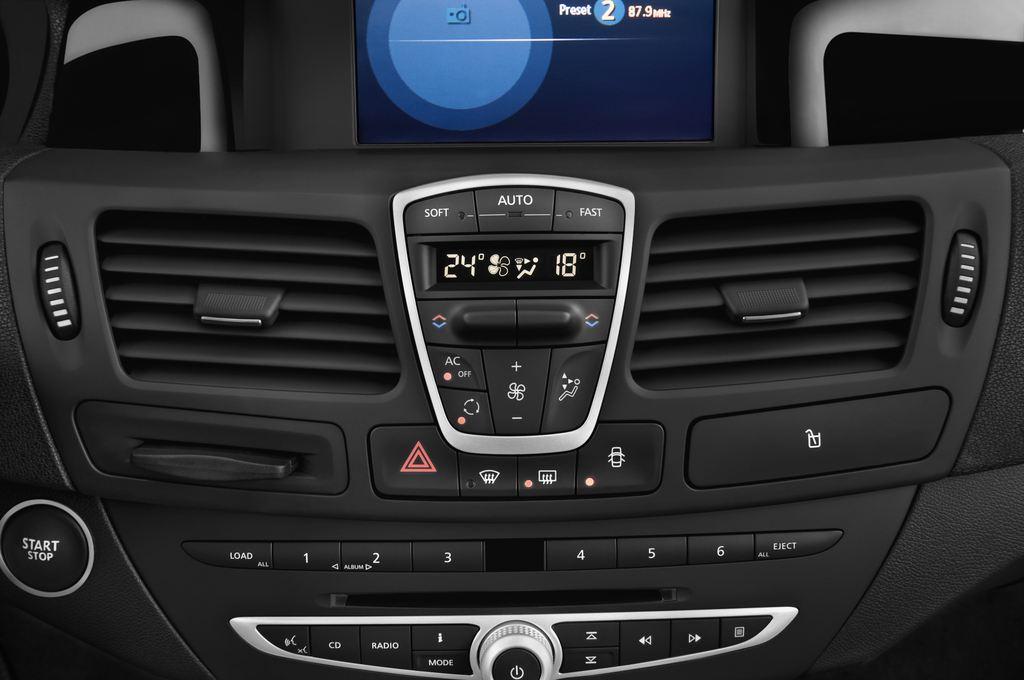 Renault Laguna Bose Edition Kombi (2007 - 2015) 5 Türen Lüftung