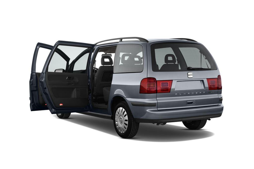 Seat Alhambra Style Van (1996 - 2010) 5 Türen Tür geöffnet