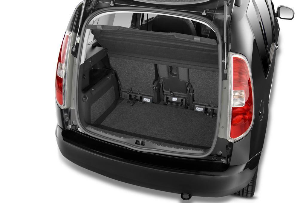 Skoda Roomster Comfort Transporter (2006 - 2015) 5 Türen Kofferraum