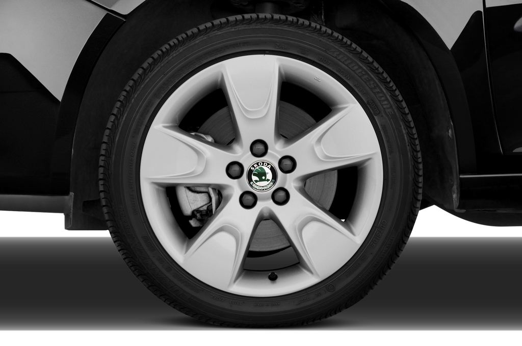 Skoda Roomster Comfort Transporter (2006 - 2015) 5 Türen Reifen und Felge