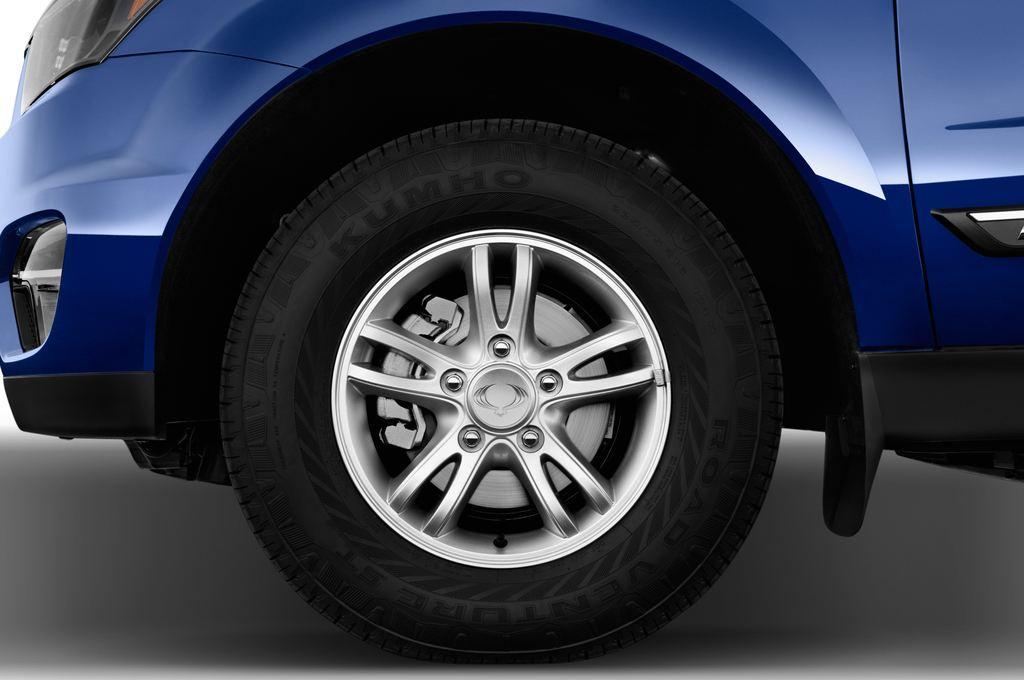 Ssangyong Actyon Quartz Transporter (2006 - heute) 4 Türen Reifen und Felge