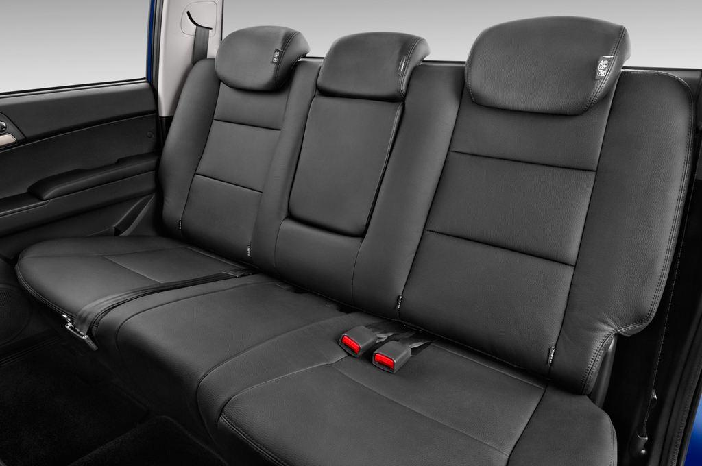 Ssangyong Actyon Quartz Transporter (2006 - heute) 4 Türen Rücksitze