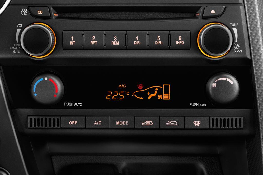 Ssangyong Actyon Quartz Transporter (2006 - heute) 4 Türen Temperatur und Klimaanlage