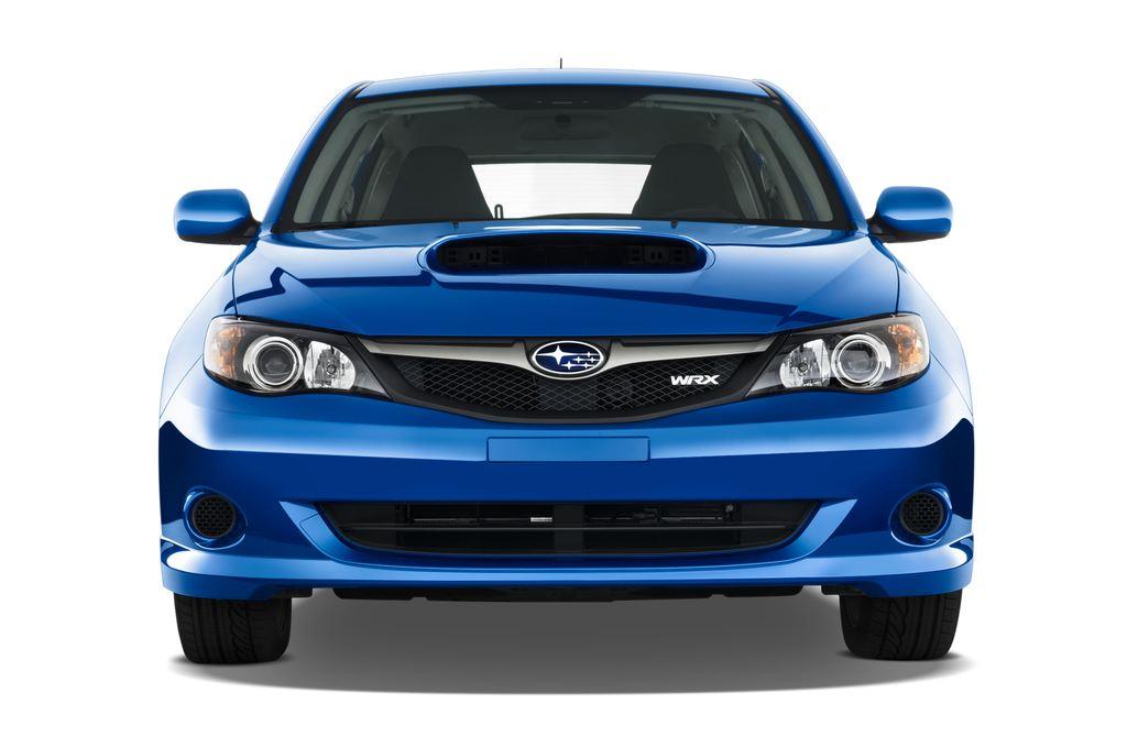 Subaru Impreza WRX STI Kombi (2000 - 2007) 5 Türen Frontansicht