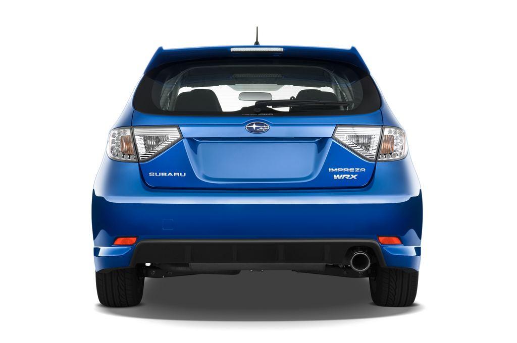 Subaru Impreza WRX STI Kombi (2000 - 2007) 5 Türen Heckansicht