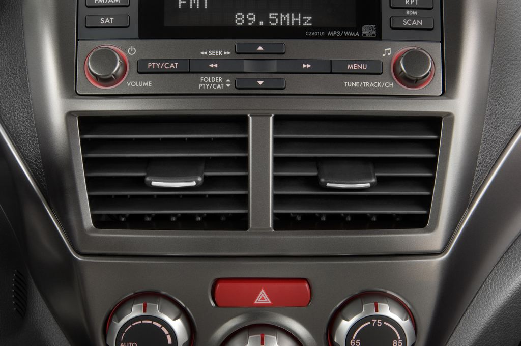 Subaru Impreza WRX STI Kombi (2000 - 2007) 5 Türen Lüftung